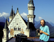 Mathias Michel in Neuschwanstein